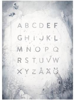 ABC, poster 50x70 cm