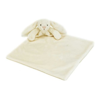 Gosedjur med snuttis - Bashful Cream Bunny Soother