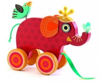 Dragleksak, Elefant, Indi