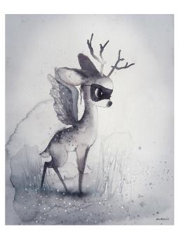 Dear fawn, poster 40x50 cm