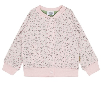 Cardigan Soft rose (blommönster)