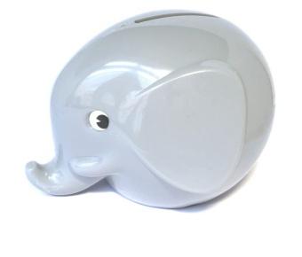 Sparbössa - Liten pastell grå