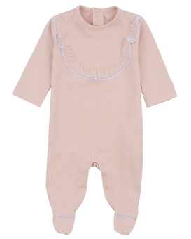 Elsa Cover Footie Mauve Rose