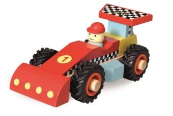 Racerbil i trä