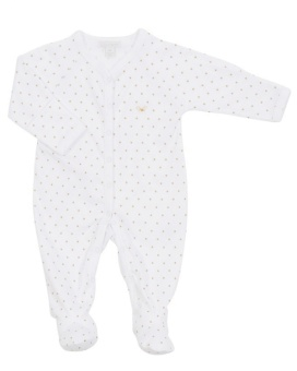 Overall, Saturday simplisity onsie vit/guld