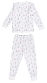 Pyjamas 2-dels elefanter rosa