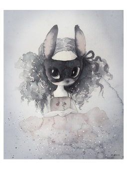 Miss Vera, poster 40x50 cm
