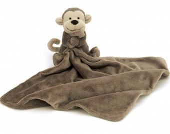 Gosedjur med snuttis - Bashful Monkey Soother