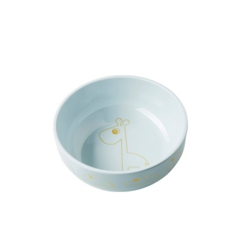 Skål - Yummy Bowl, Contour, gold/blue