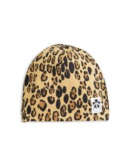 Mössa - Basic leopard beanie - beige
