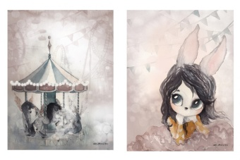 Carousel/Miss Lola, Poster 2-Pack