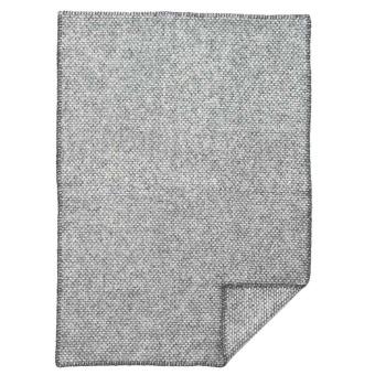 Ullfilt - Domino - mörkgrå