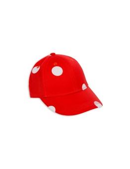 Keps - Dot cap - red