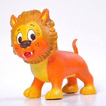 Naturgummi djur - Lenny Lion