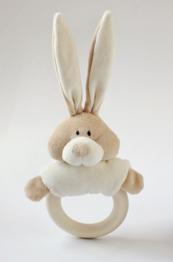 Kaninskallra med gripring i trä