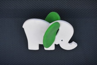 Bitleksak - Elefant - naturgummi