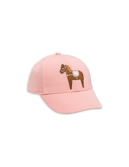 Keps - Horse embroidery cap - pink