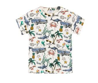 T-shirt Andy mönstrad