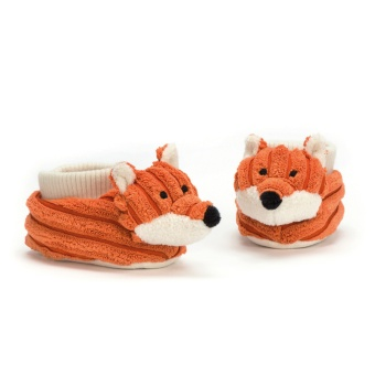 Cordy Roy Baby Fox, Booties
