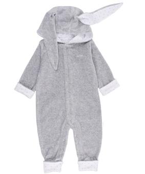 Overall Bunny grå