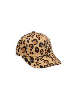 Keps - Leopard - beige
