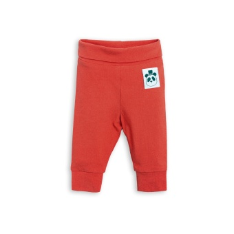 Babyleggings - Leggings basic - red