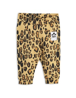 Babyleggings - Basic nb - leopard