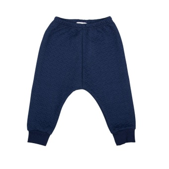 Babybyxa, quilted pants (navy)