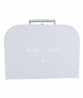 Väska, medium sleeping cutie trunk grå