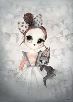 Miss Emma, Poster 50x70 cm