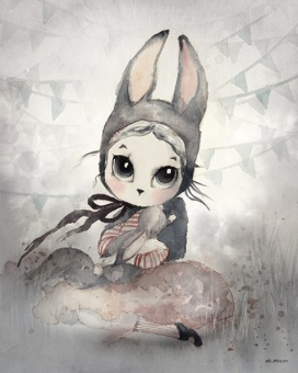 Miss Hanna, Poster 40x50 cm