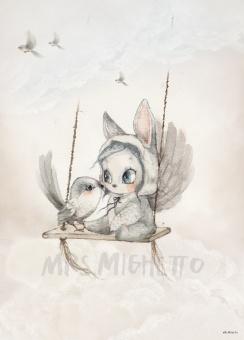 Poster, 50x70 - Mini Bird Master