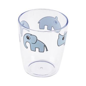 Yummy mini glass, Deer friends, blue