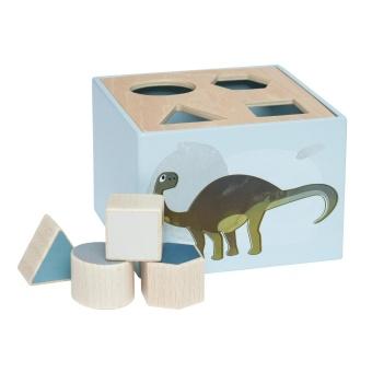 Sorteringslåda i trä - Dino