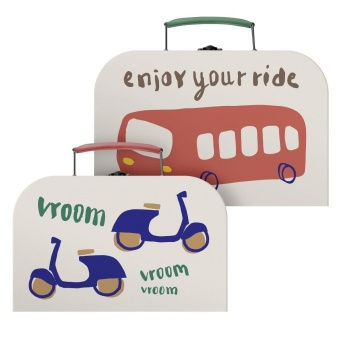 "Väskor - 2 st ""Buss"""