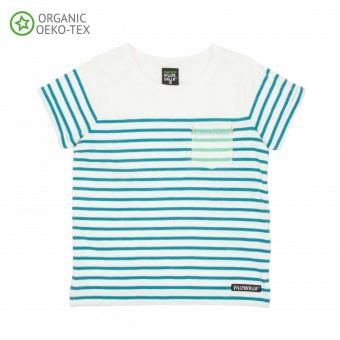 T-shirt placement stripes - Lake