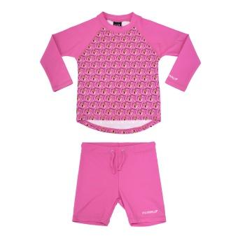 UV set Flamingo
