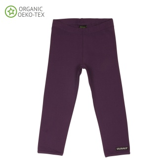 Leggings Solid Basic, Grape