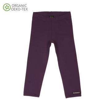 Leggings Solid Basic, Grape