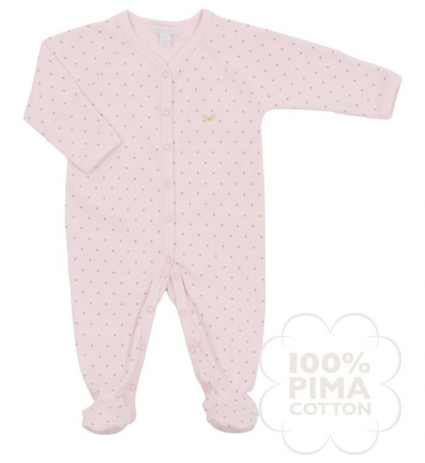 Overall, Saturday simp onsie, rosa/guld