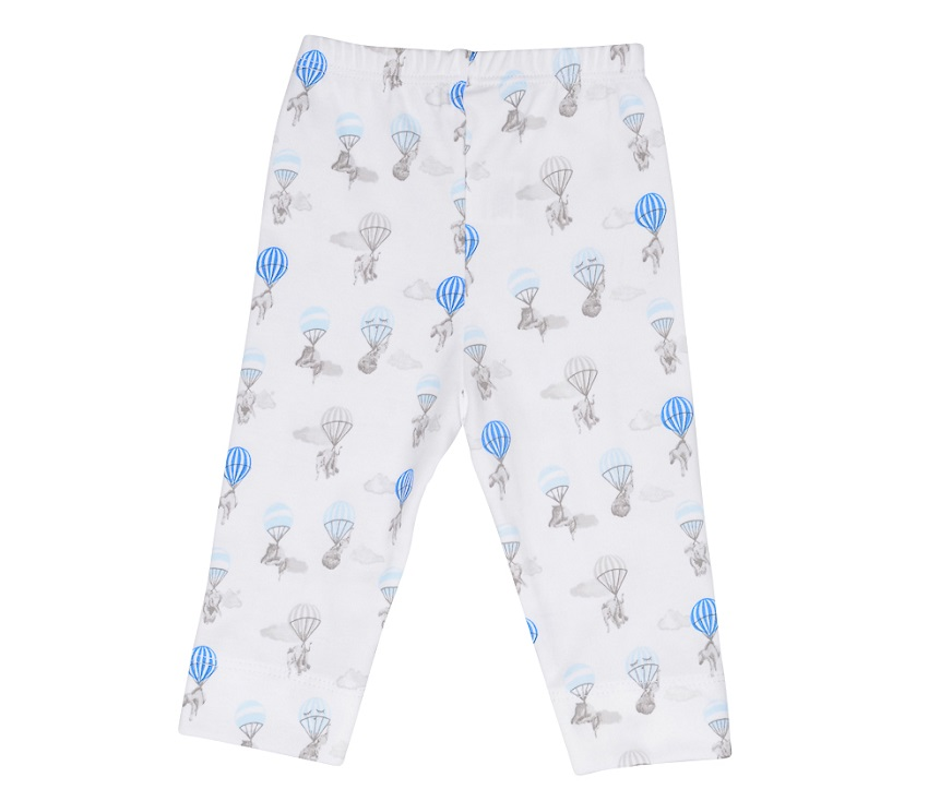 Leggings elefanter blå