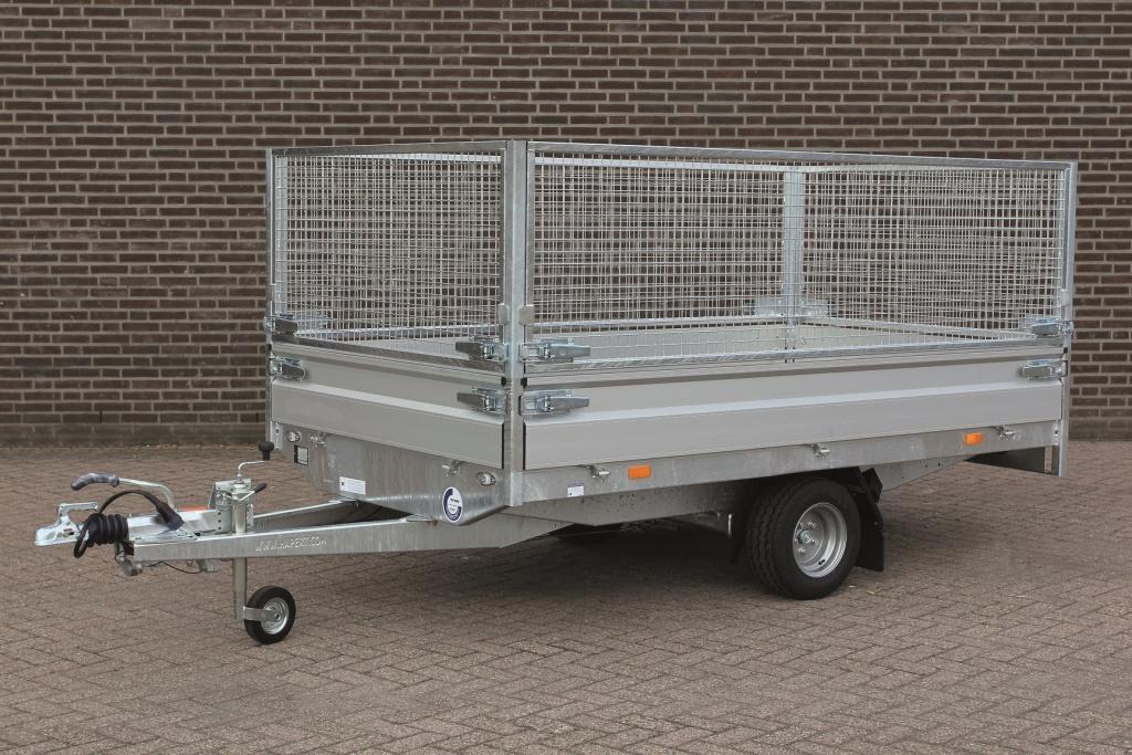 släpvagn med gallergrindar