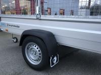 Hapert Basic L1 1350 kg bromsat med gallergrindar 260x134 cm