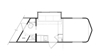 Gooseneck - 3 Horses slant load - 10' Living quarter