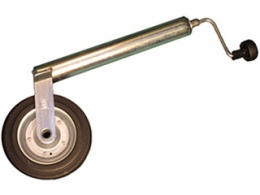 Jockey wheel (light model) round 48 mm without clamp