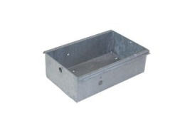 Pump-/batterycase, Galvanised