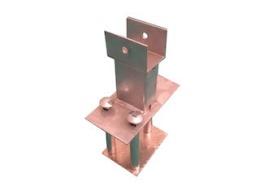 Reservhjulsstöd, monteras under släpet, till Azure H med lastramper, komplett (ej monterat) för däck 185/70r13, 185r14, 195/50r13