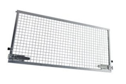 Side weldmesh extension 305x75, for Azure H + Azure L, with lock