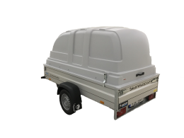 Hapert Basic L1 750 kg bromsat med låg kåpa 65 cm
