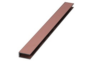 U-profile, 25X15X25X2 mm, Per meter